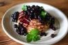 Ricotta Pancakes & BlueberryCompote