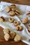 Cardamom Butter Cookies w. MochaGanache