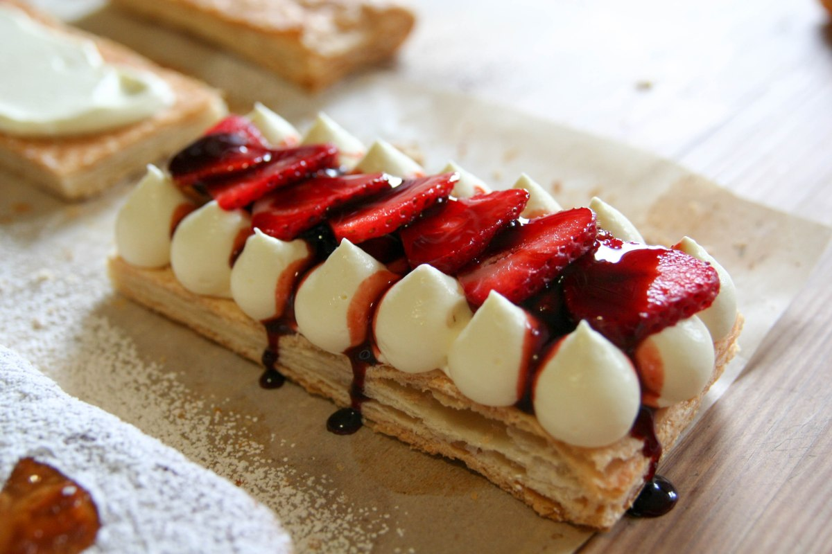 Strawberry Balsamic Millefeuille